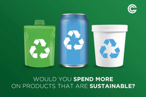 will consumers pay more for sustainable products